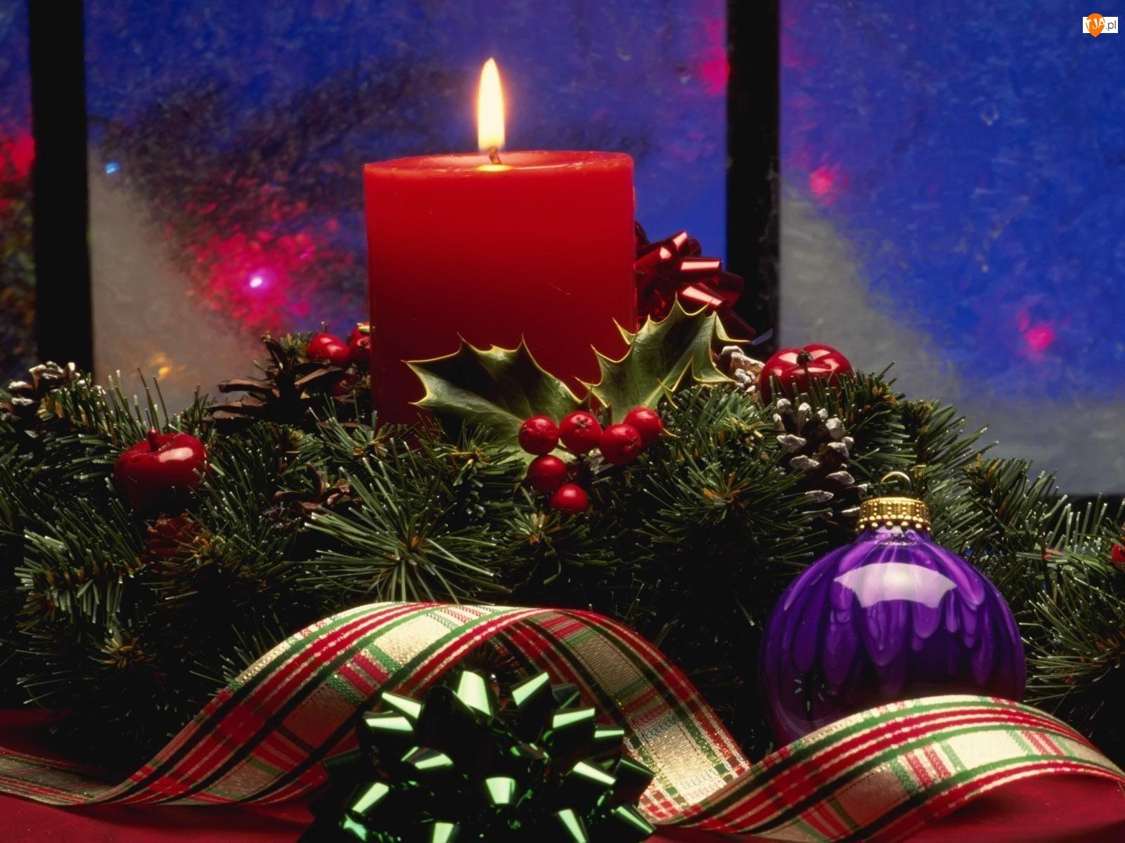 Boże, Bombka, Narodzenie, Stroik