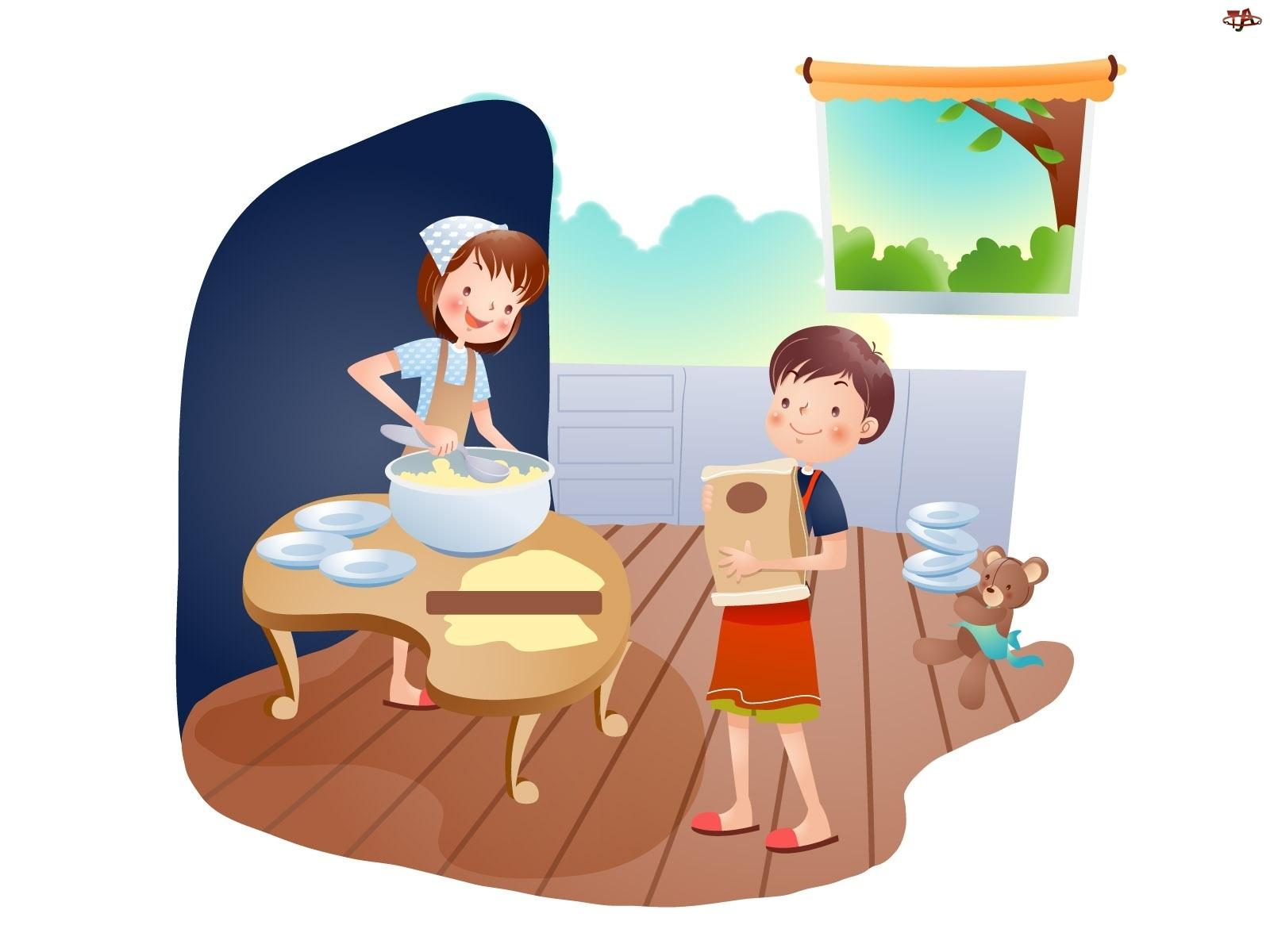 Gotowanie Dzieci Wspólne