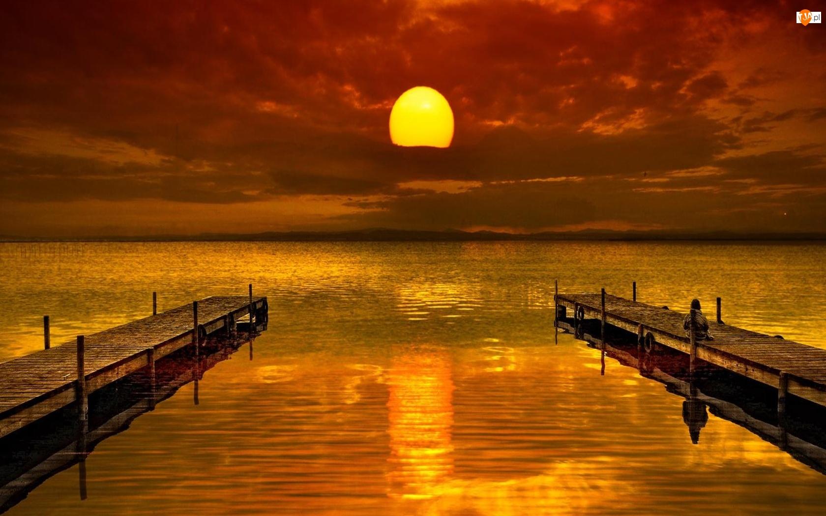 Jezioro, Dwie, Kładki