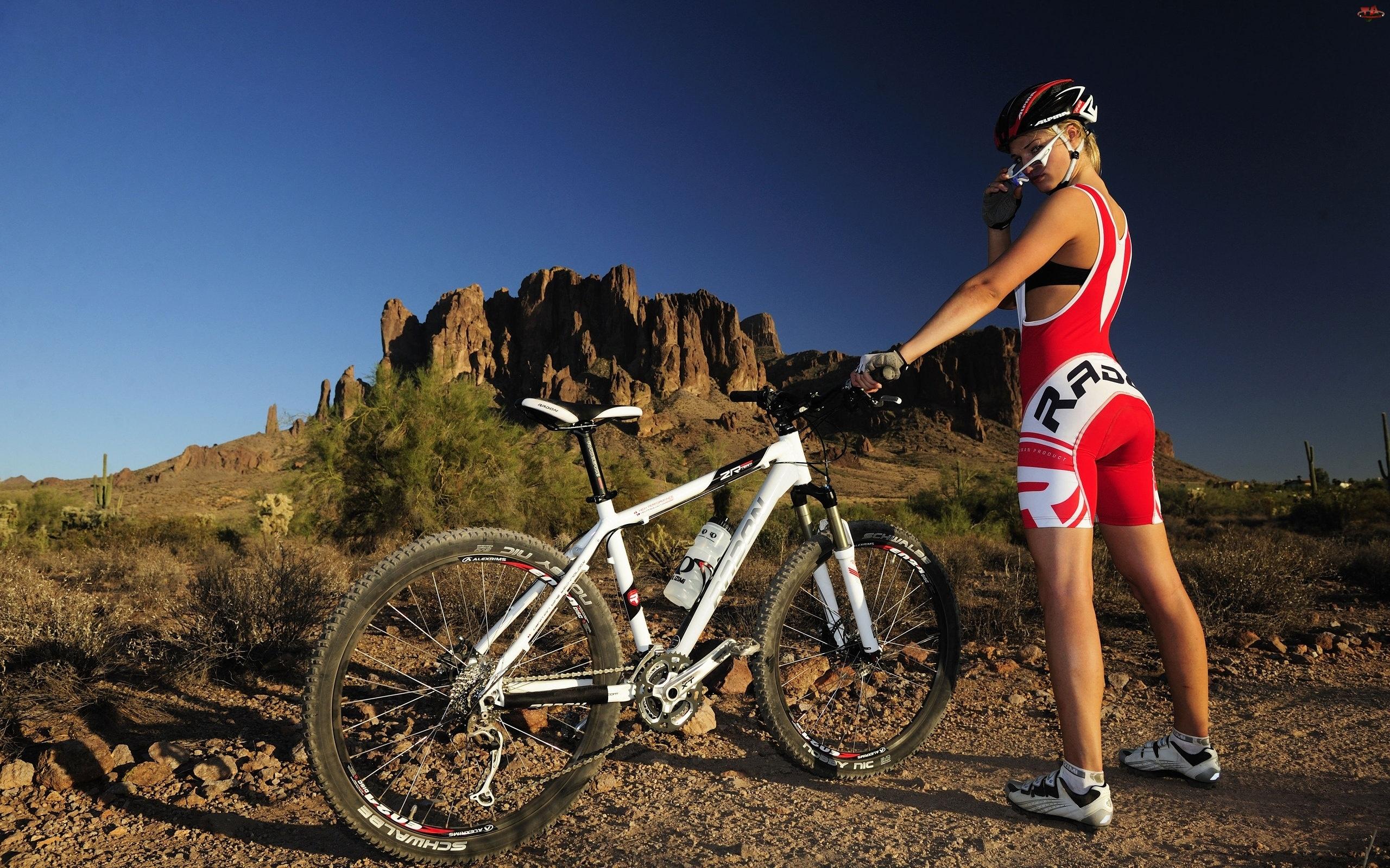 Sport, Kobieta, Rower