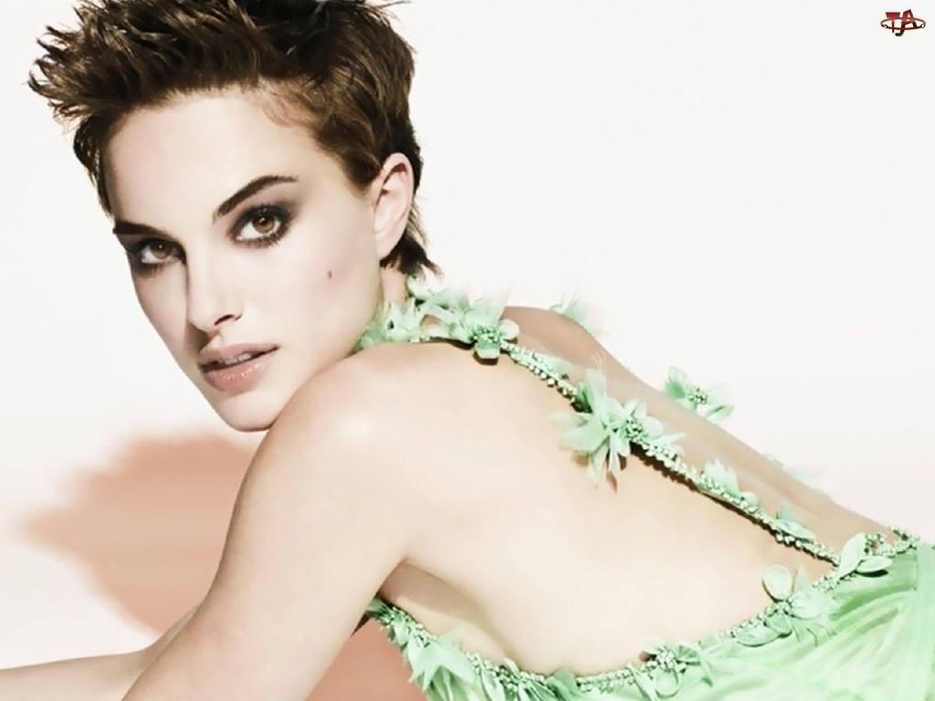Natalie Portman, Zielona Sukienka