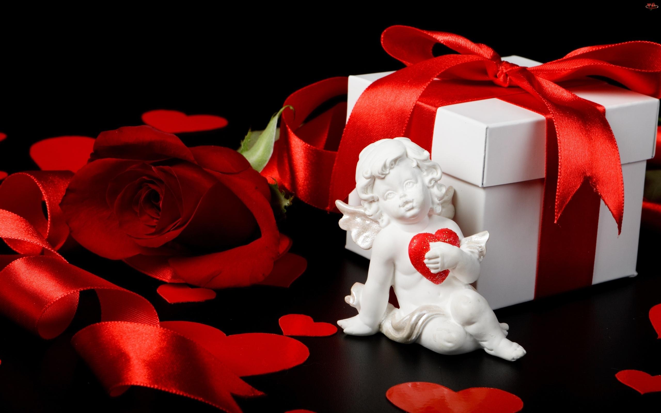Aniołek, Czerwona, Róża