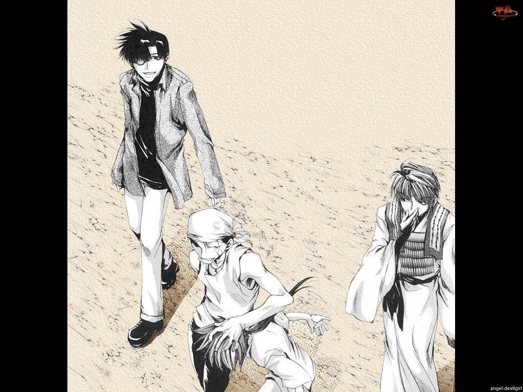 Saiyuki, pustynia