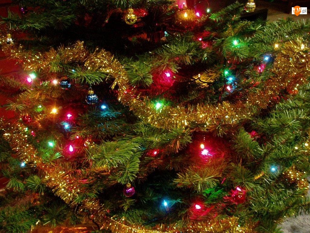 bombki, Boże Narodzenie, choinka