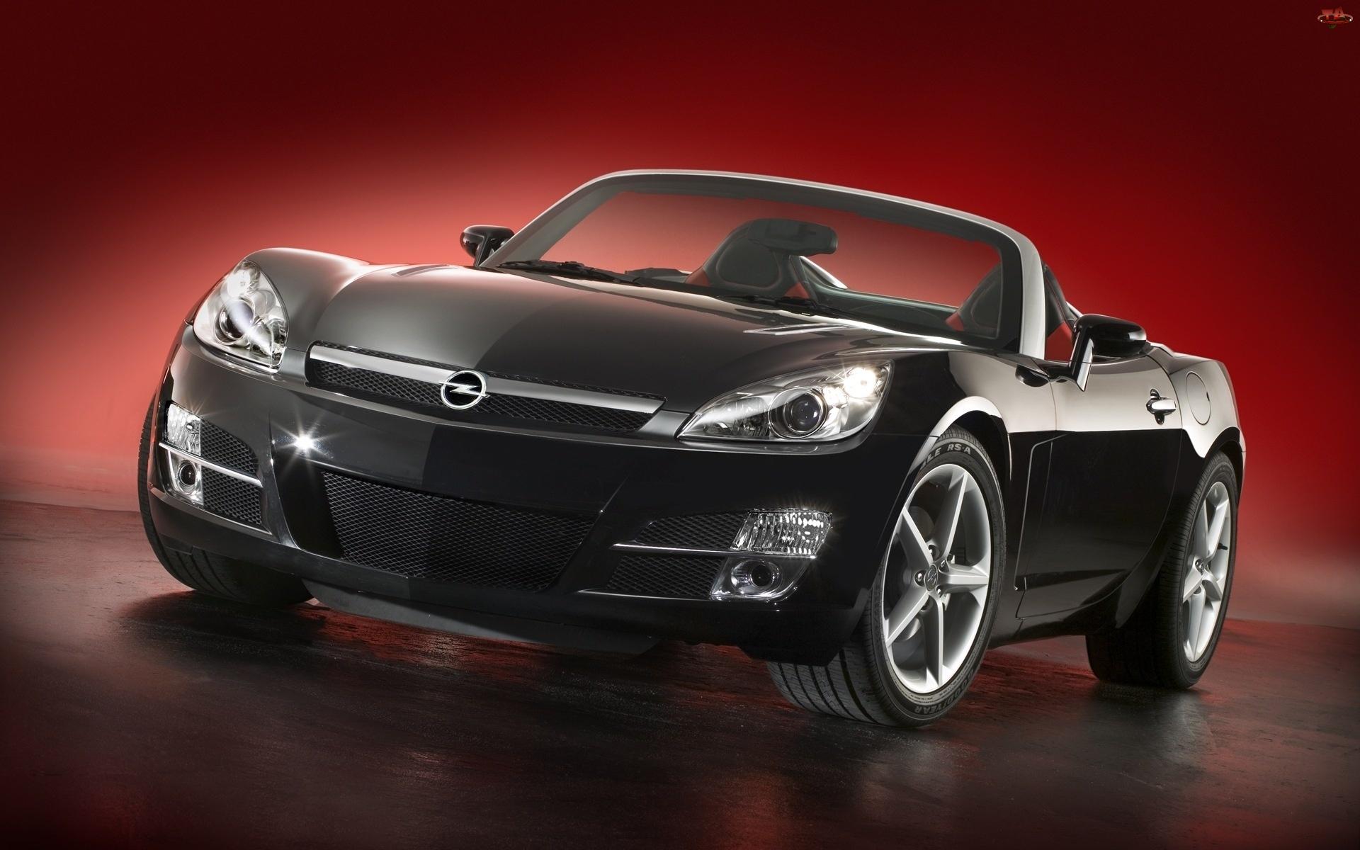 Czarny, Opel Speedster