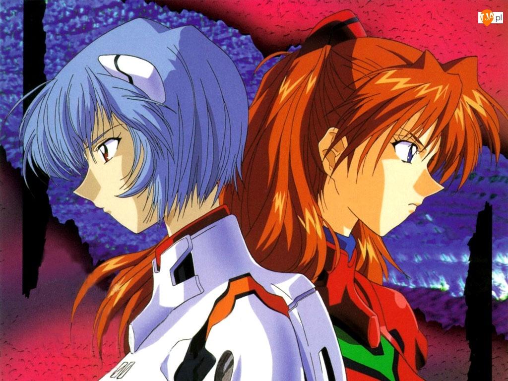 kobiety, Neon Genesis Evangelion, przyjaciółki