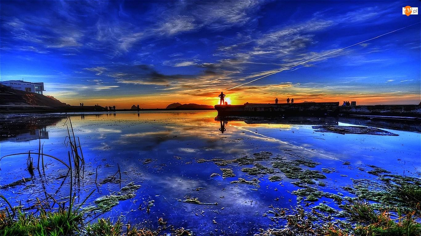 Zabudowa, Jezioro, Zatoka