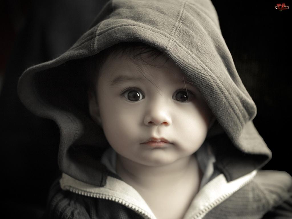 Spojrzenie, Dziecko, Kaptur