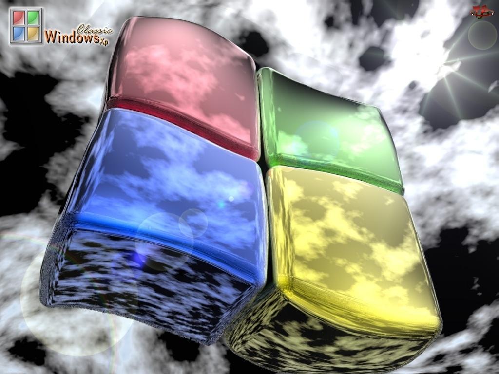 Windows, Słoneczne, Chmury, Promienie