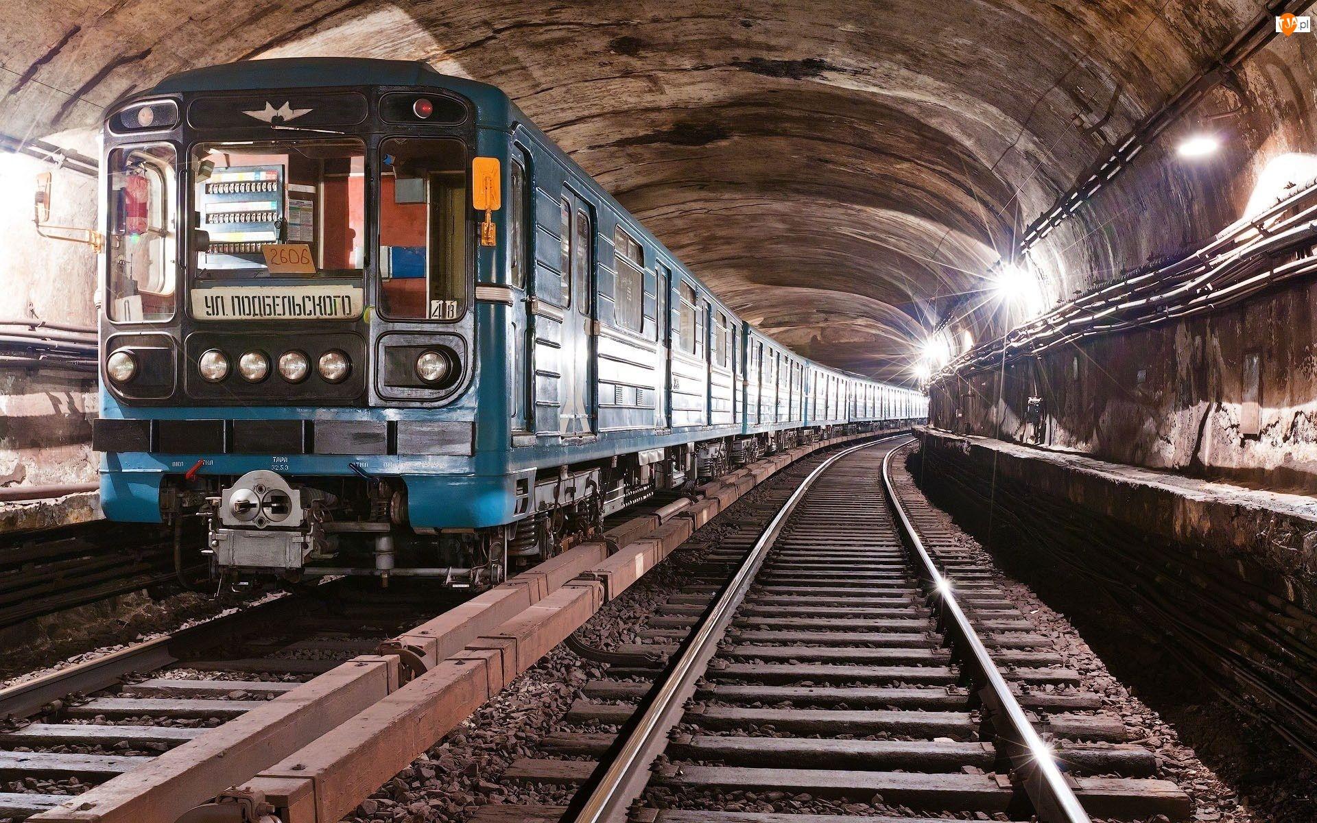 Pociąg, Szyny