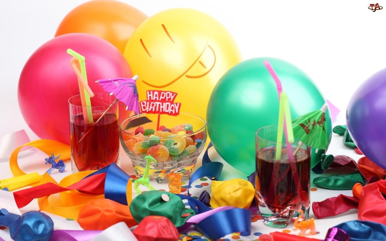 Urodziny, Baloniki, Słodycze