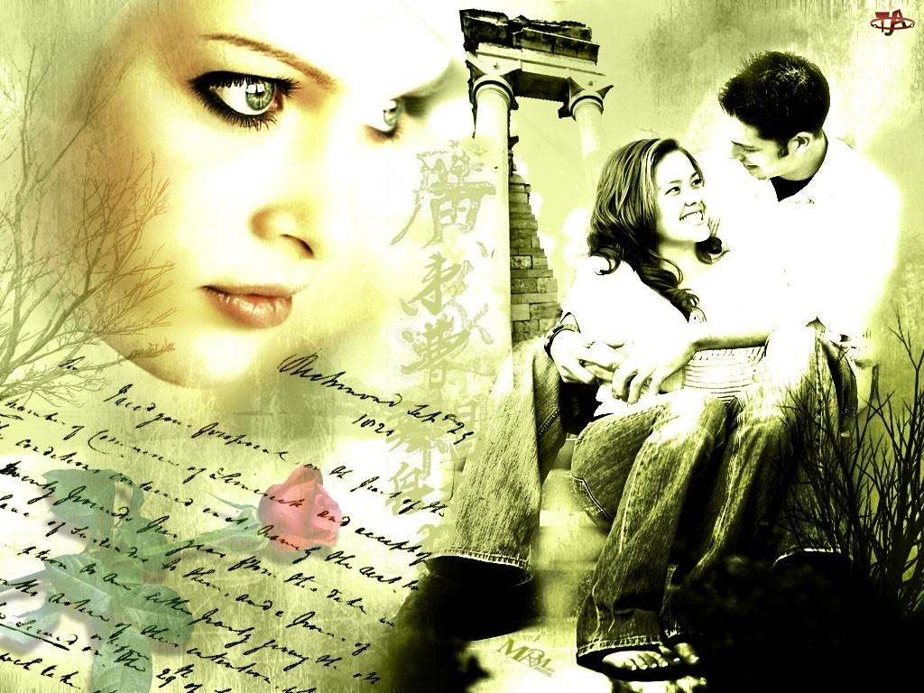 Kobieta, Tekst, Mężczyzna, Zakochani