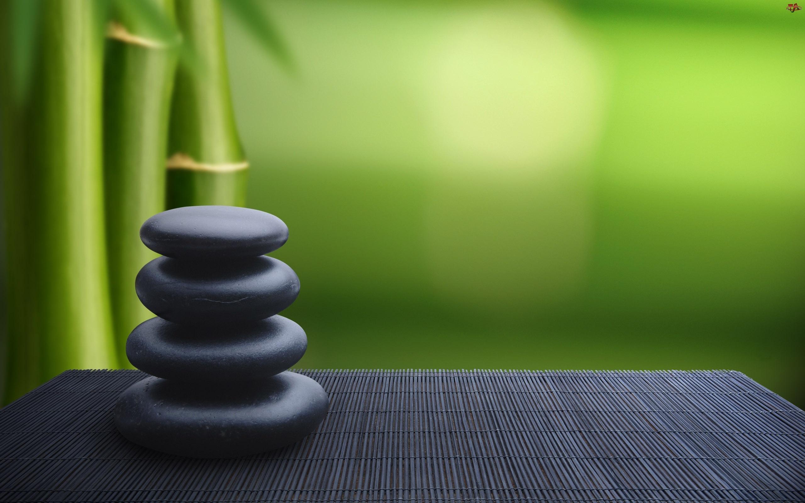 Bambus, Kamienie, Mata