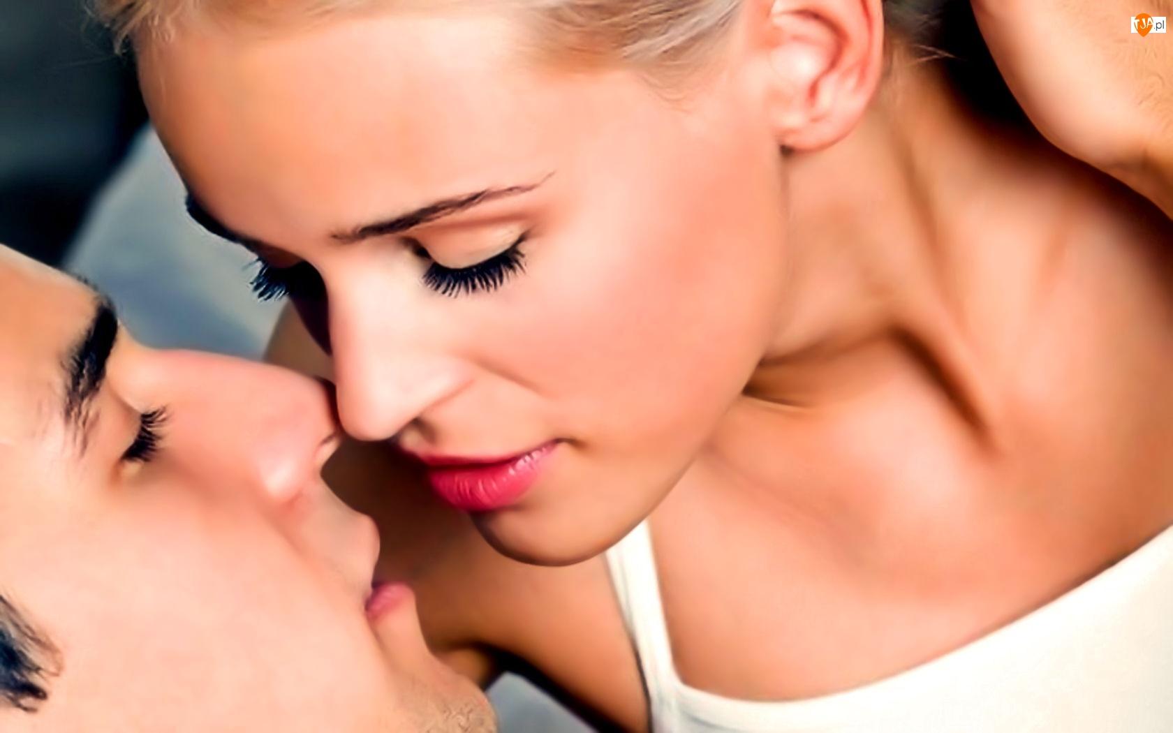 Pocałunek, Kobieta, Mężczyzna