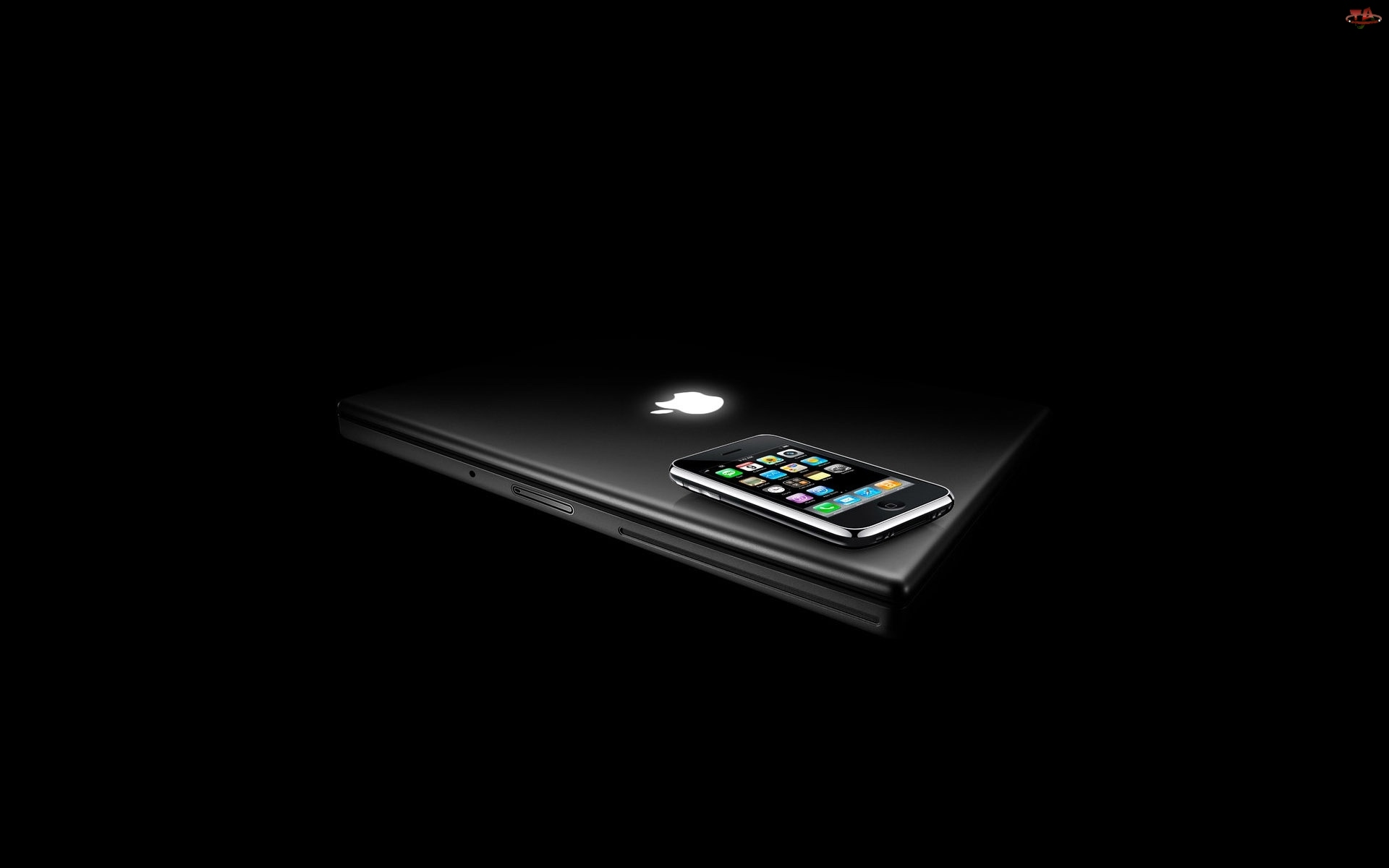 Apple, Laptop, Telefon