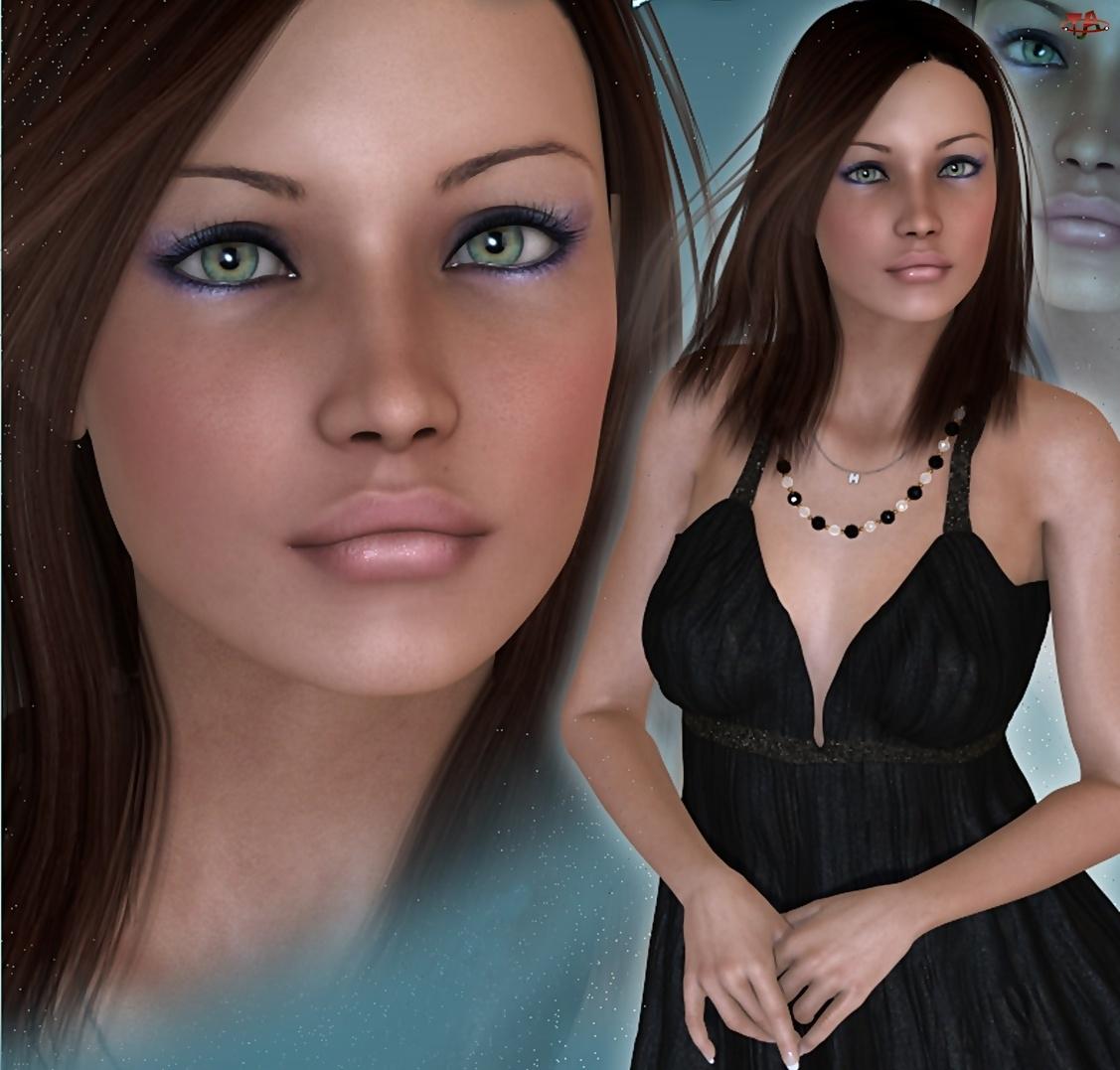Kobieta, 3D