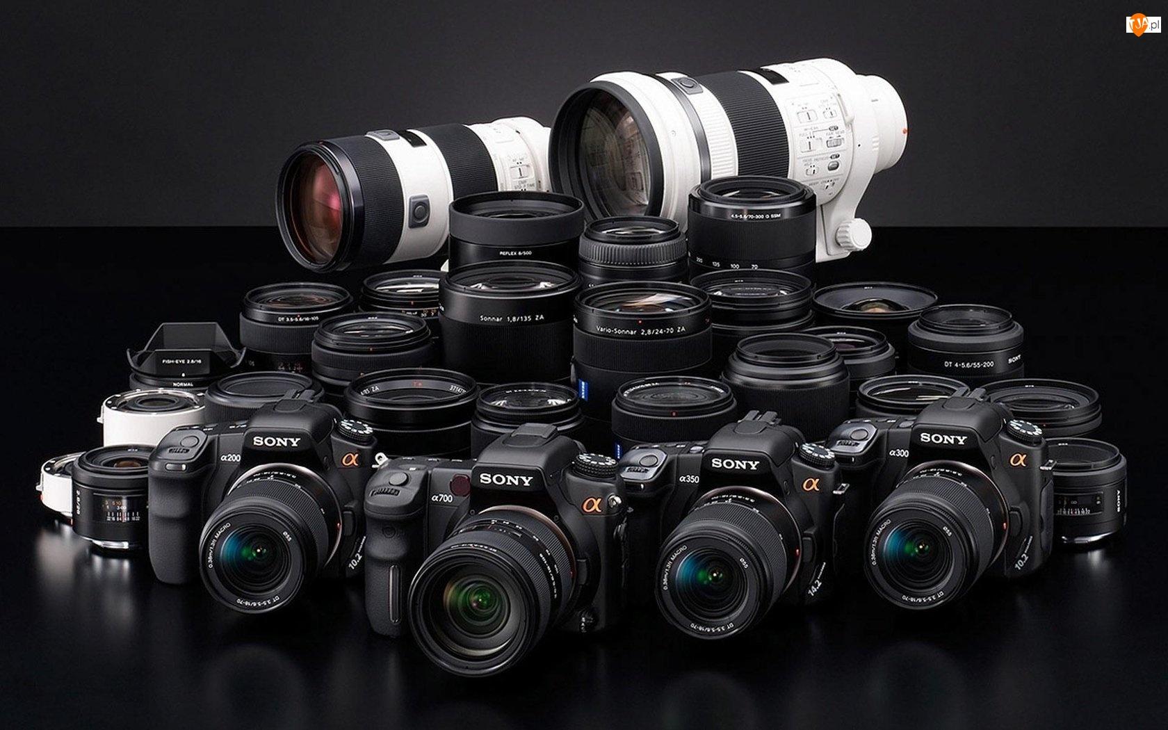 Sony, Aparaty, Fotograficzne