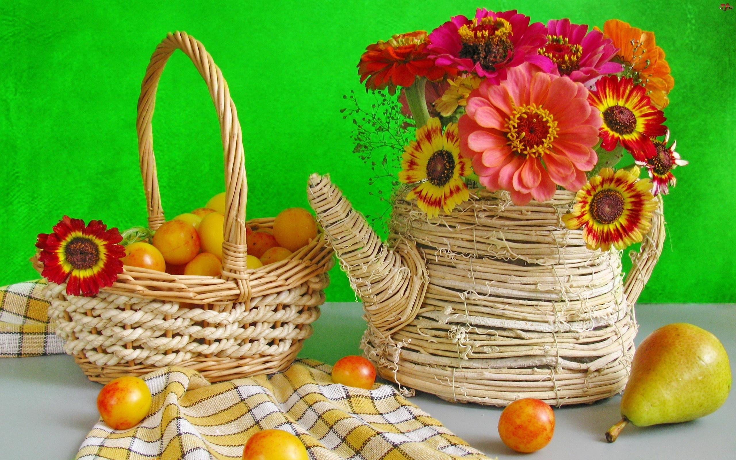 Kwiaty, Wiklina, Owoce