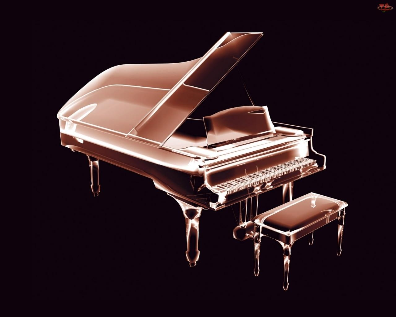 Fortepian, 3D