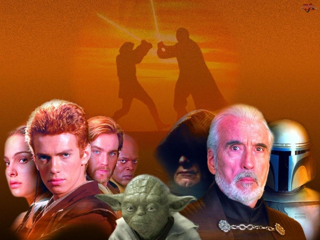Yoda, Star Wars, Natalie Portman, Samuel L. Jackson, Hayden Christensen