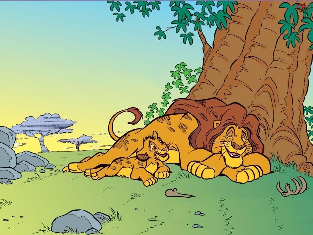 Simba, Mufasa, Król Lew