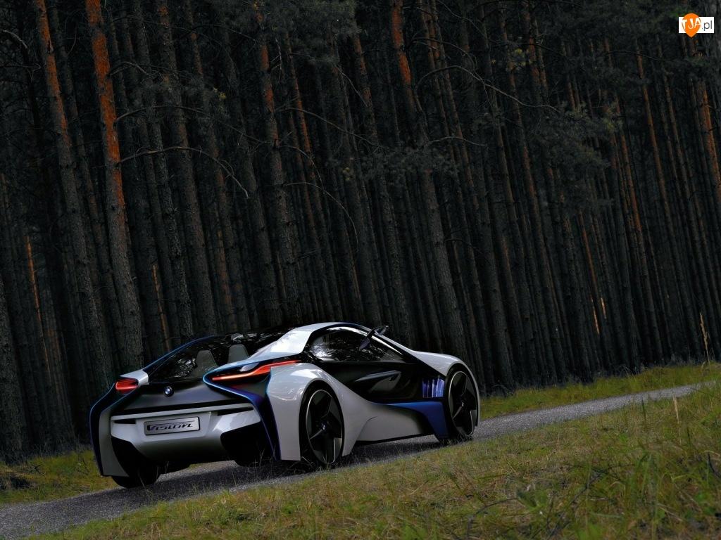 Kształty, BMW Vision Efficient, Futurystyczne