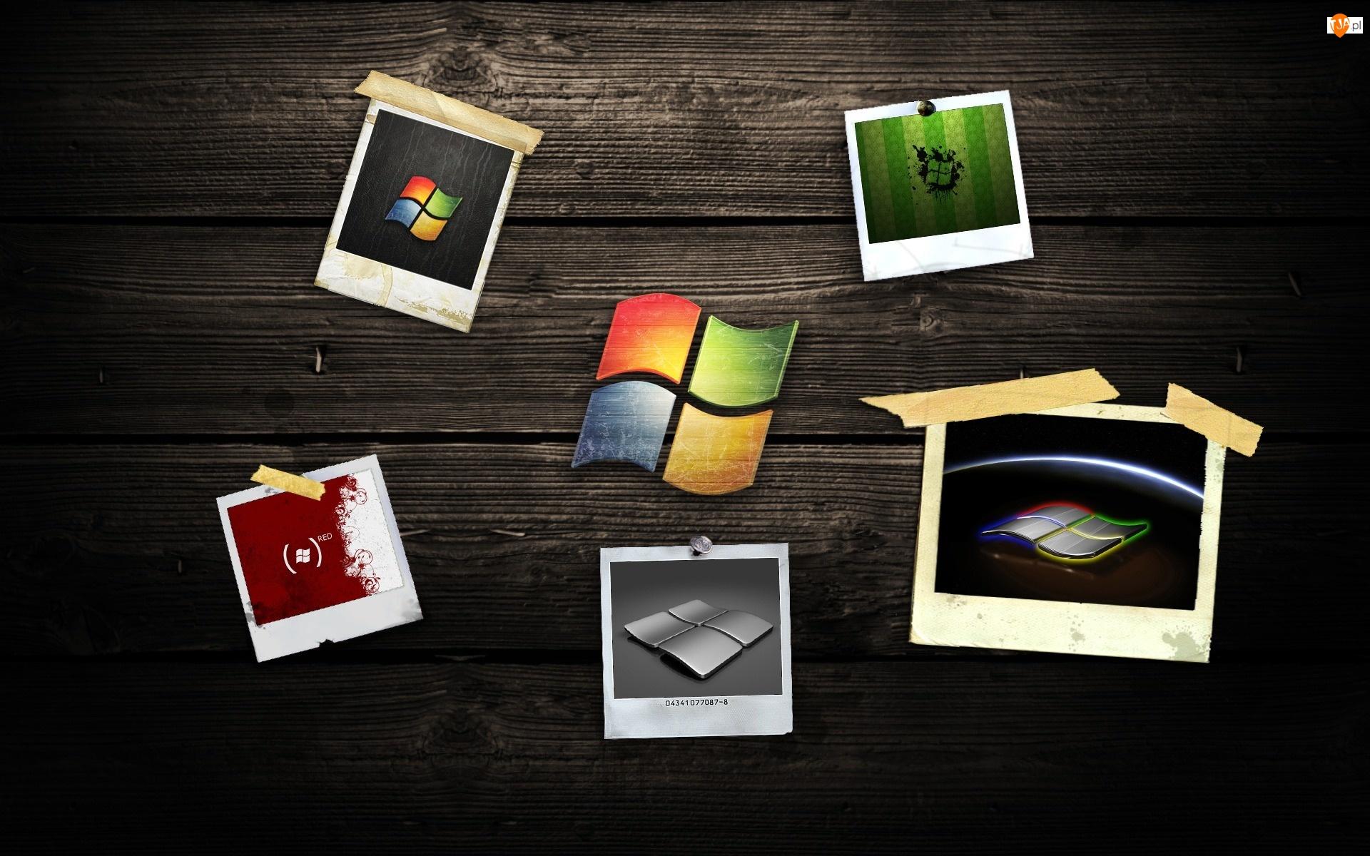 System, Logo, Operacyjny, Windows