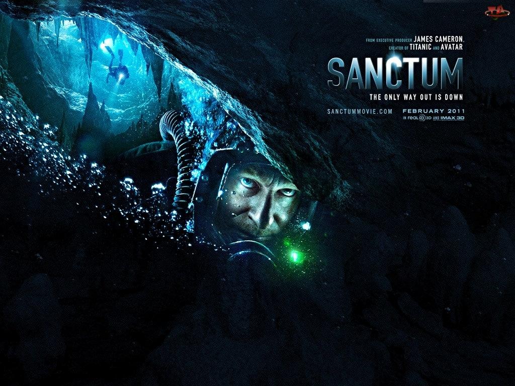 Film, Jaskinia, Sanctum, Nurek