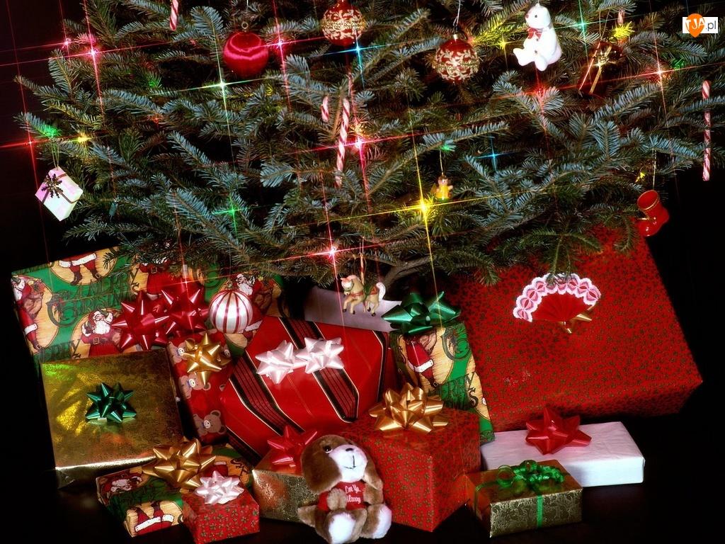 Stroik, Boże, Narodzenie, Prezenty