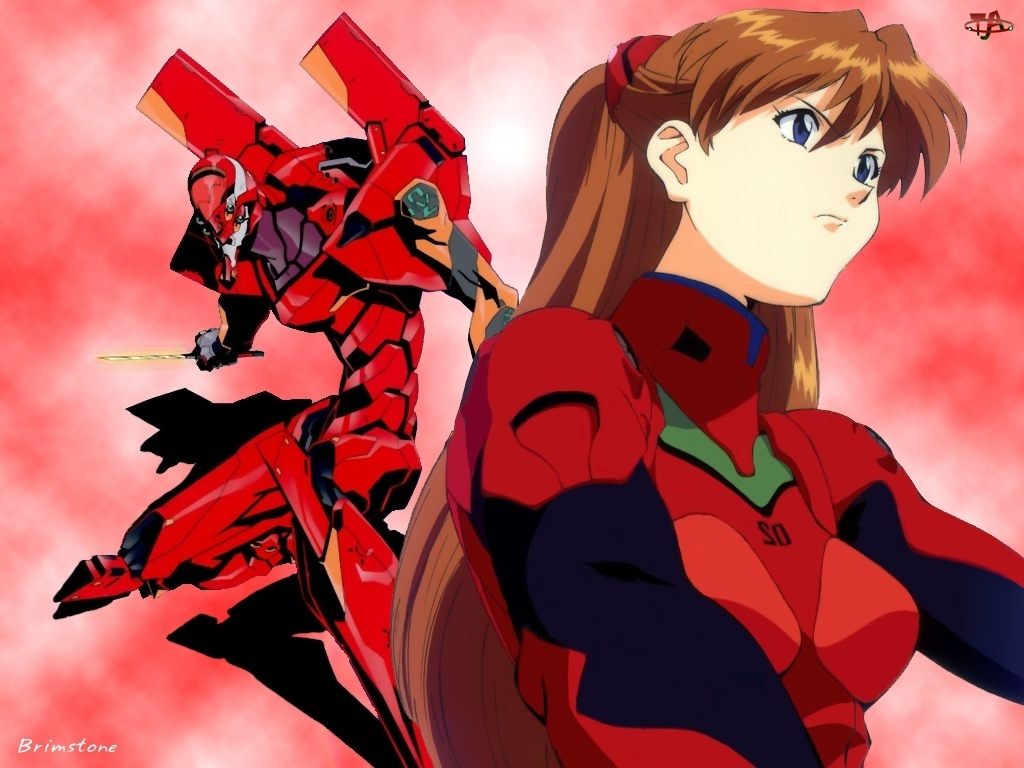 kobieta, Neon Genesis Evangelion, postać