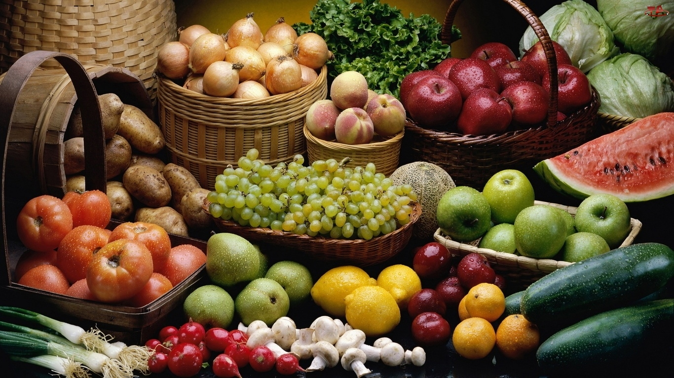 Zbiory, Owoce, Warzywa
