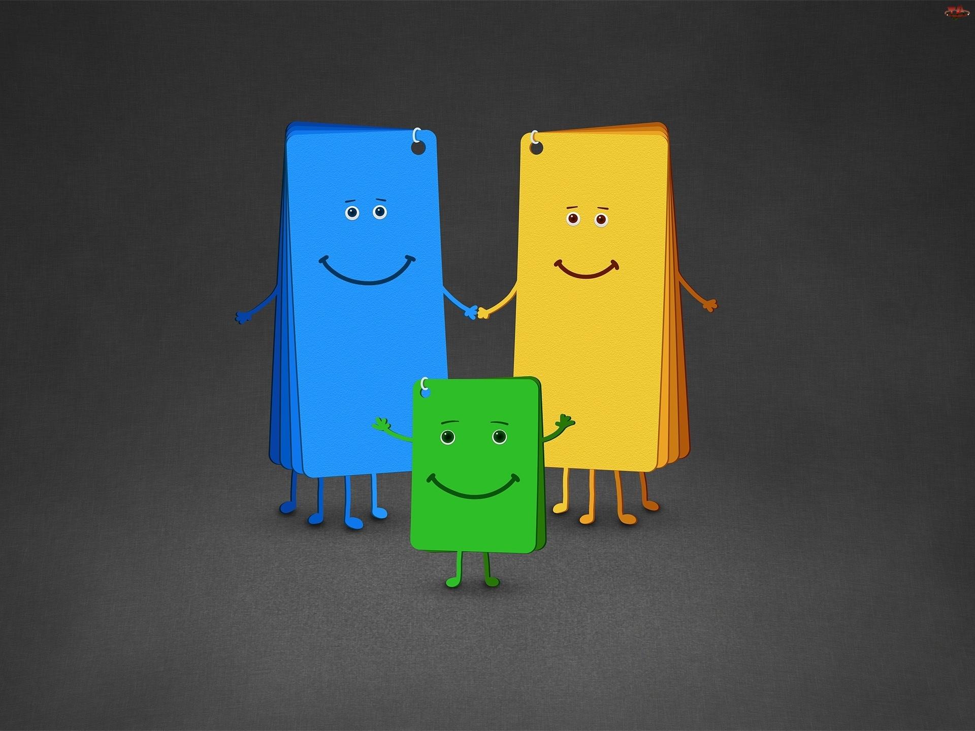 Karteczek, Kolorowa, Rodzinka