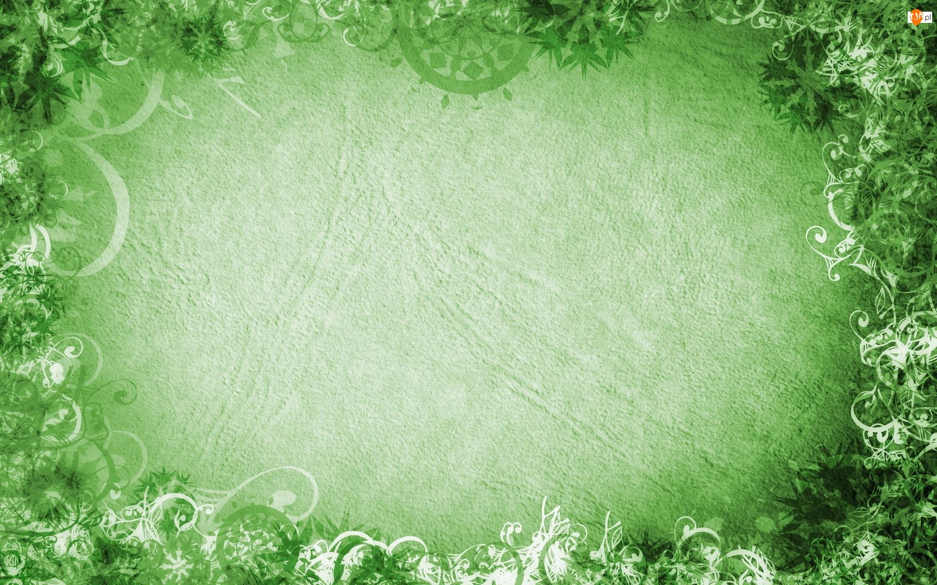 Zielona, Tekstura