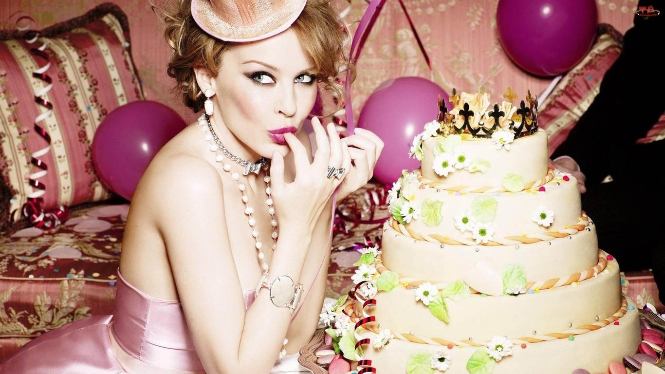 Kylie Minogue, Balony, Piętrowy, Tort