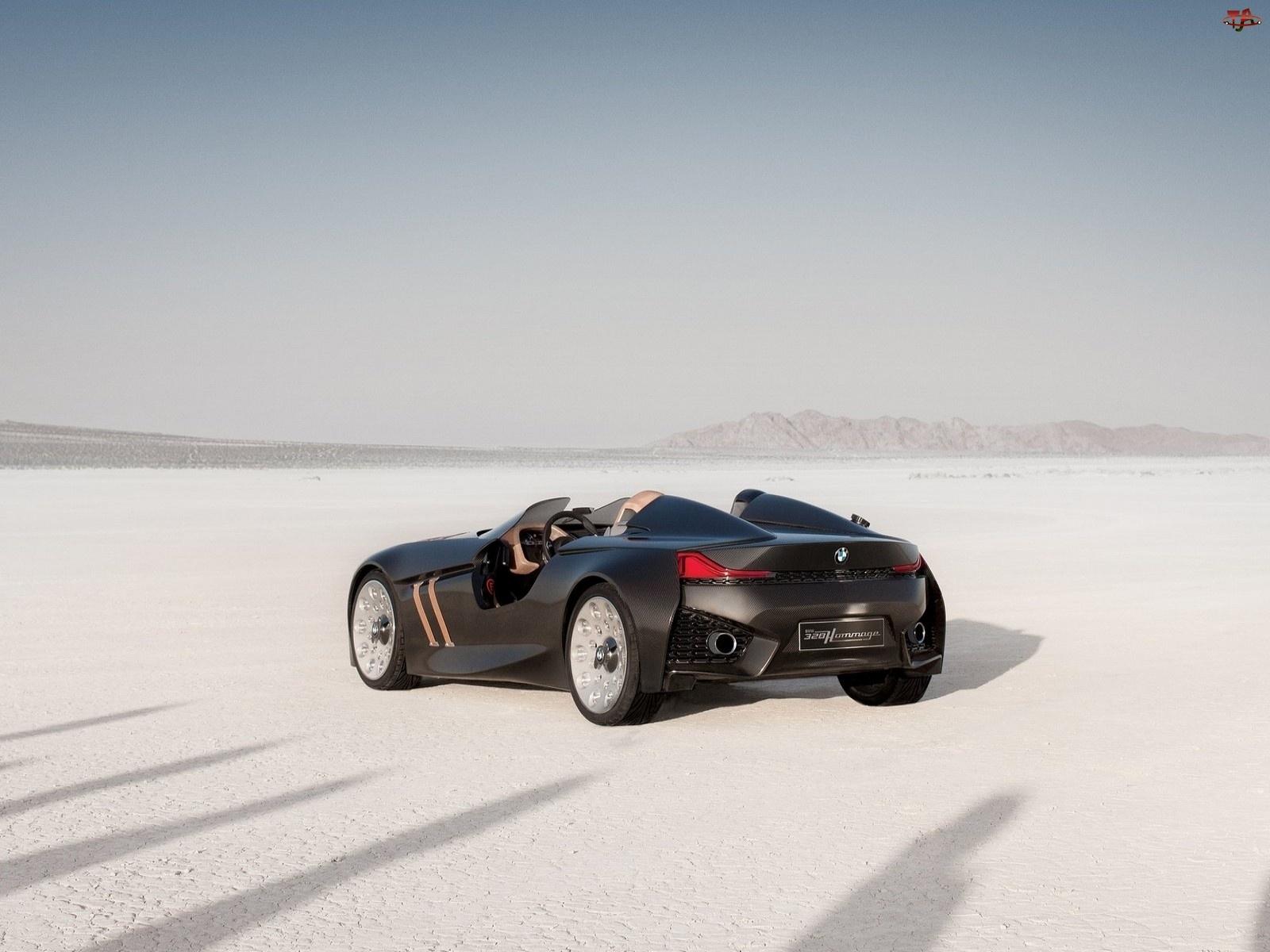 BMW 328 Concept, Jezioro, Testy, Wyschnięte