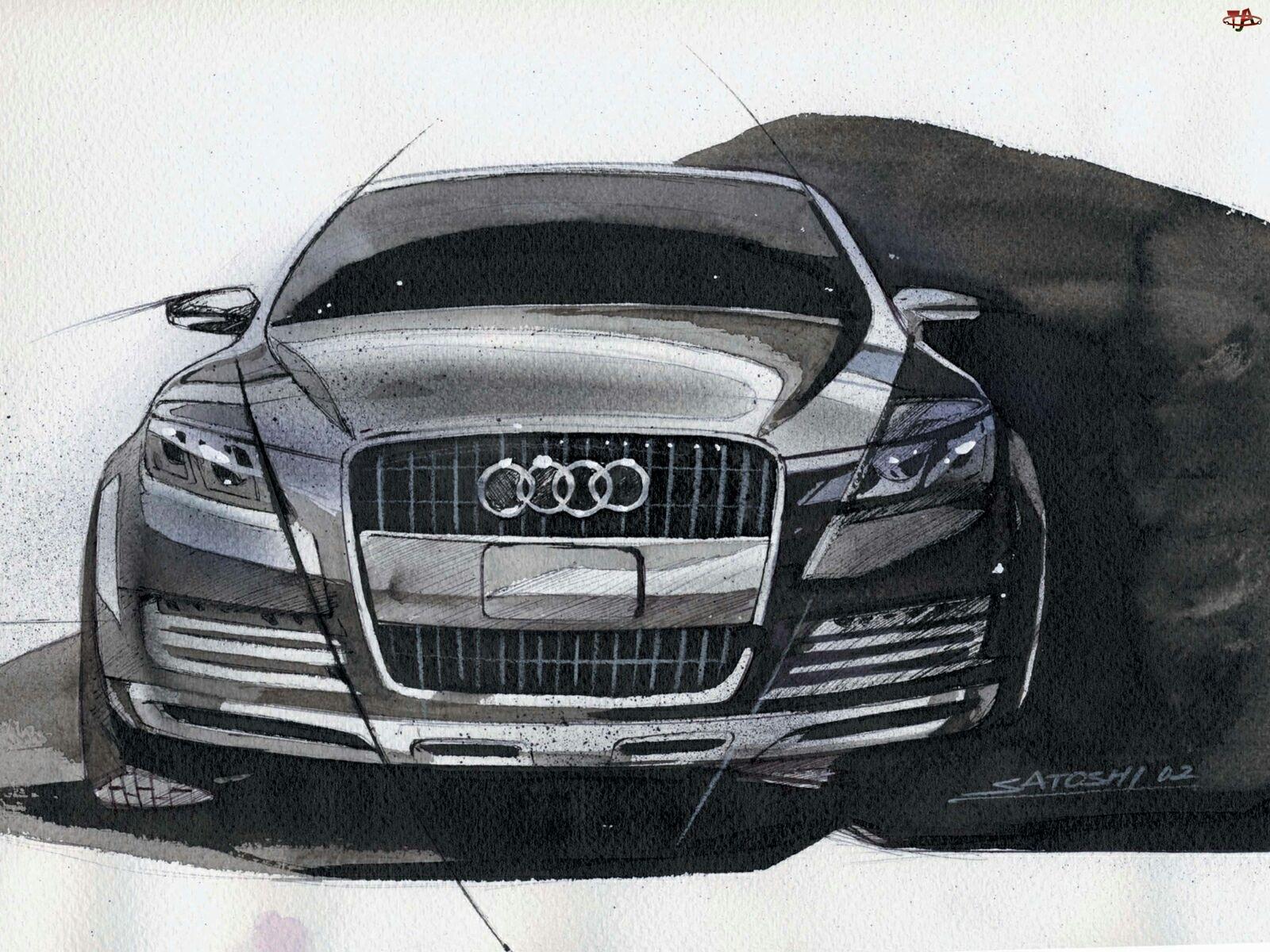 Szkic, Audi