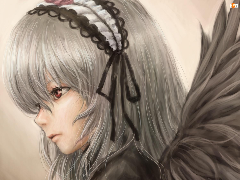 Opaska, Dziewczyna, Anioł