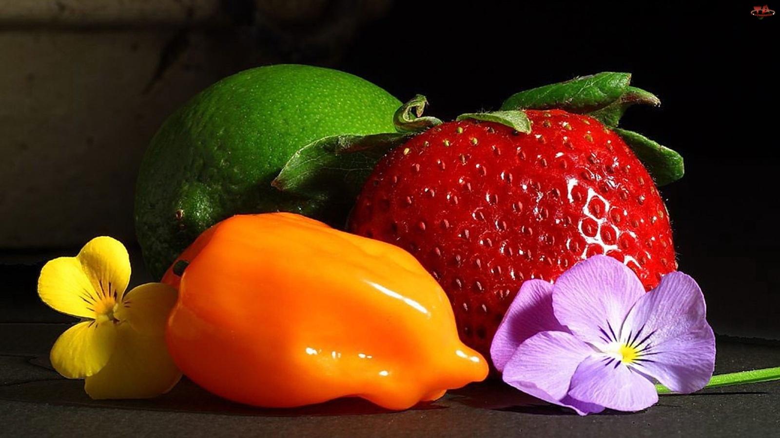Kwiaty, Owoce, Warzywa
