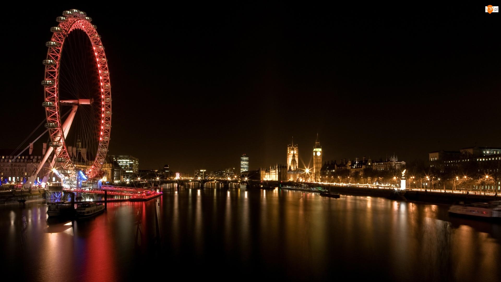 Światła, Miasto, Londyn