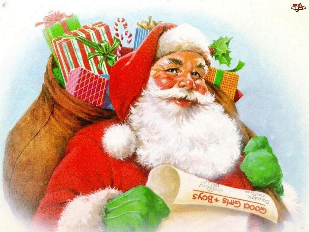 prezenty, Boże Narodzenie, mikołaj