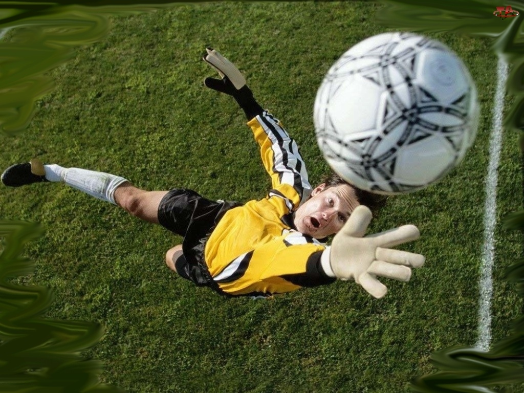 piłka, Piłka nożna, bramkarz