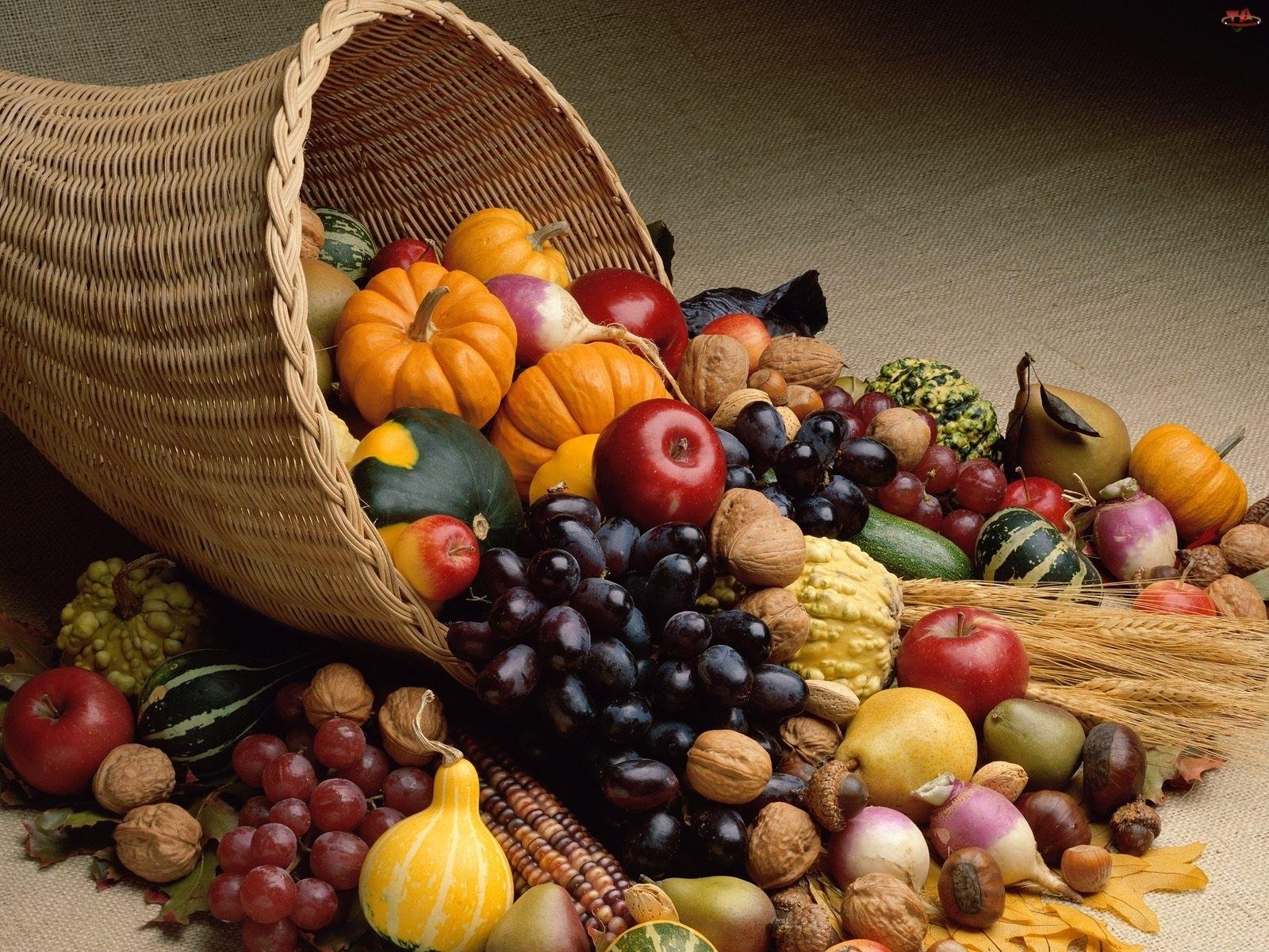 Warzywa, Kosz, Owoce