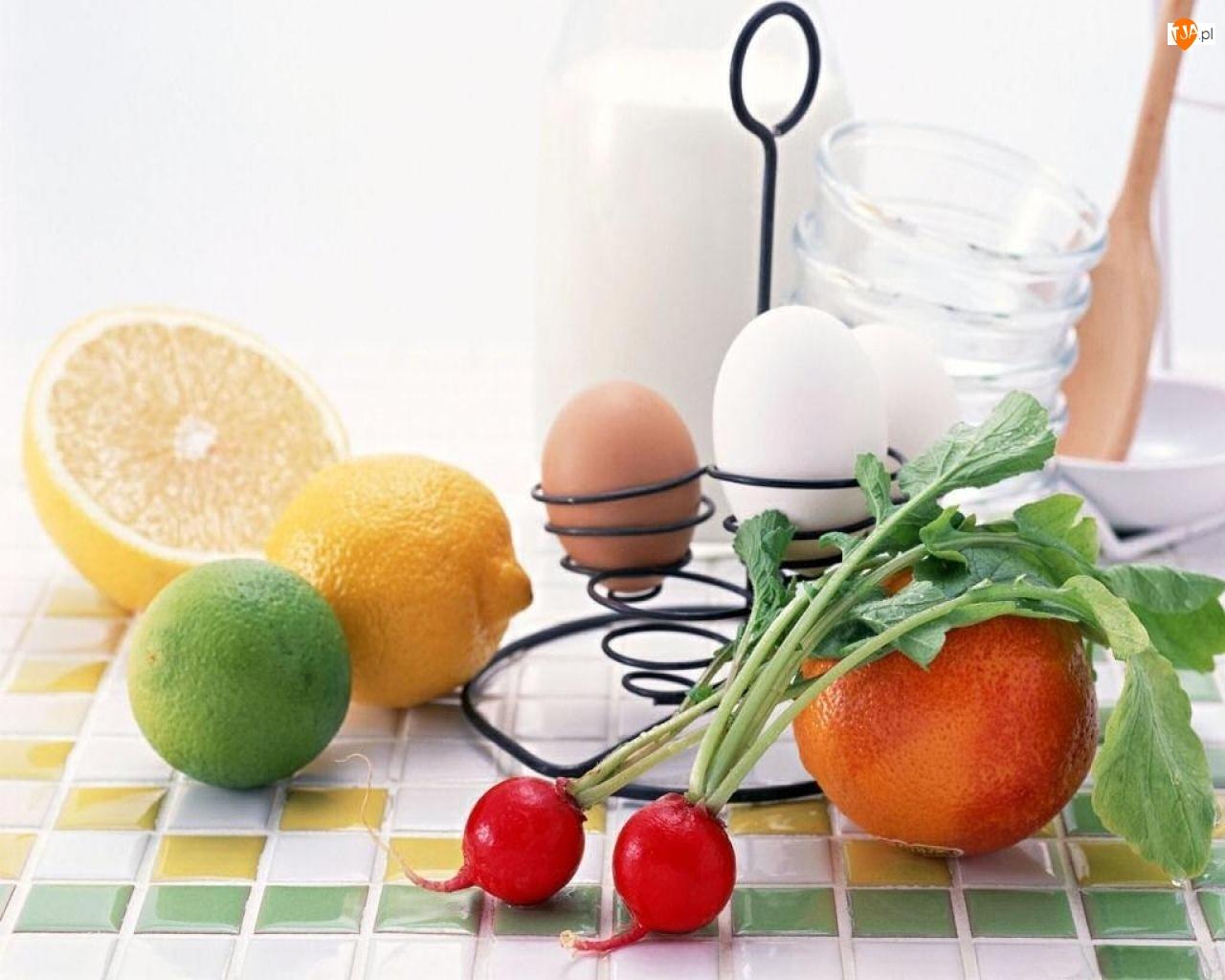 Śniadanie, Owoce, Warzywa