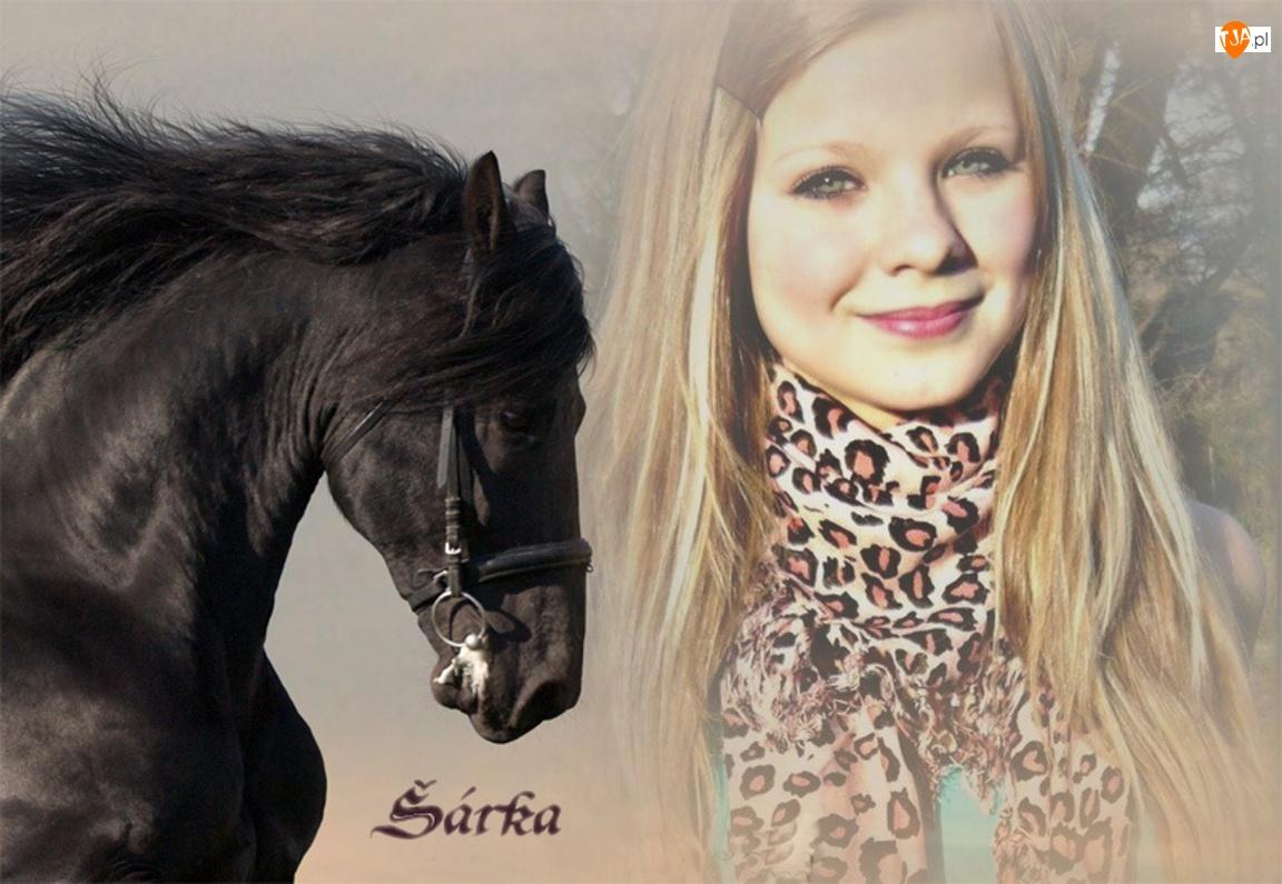 Kobieta, Koń