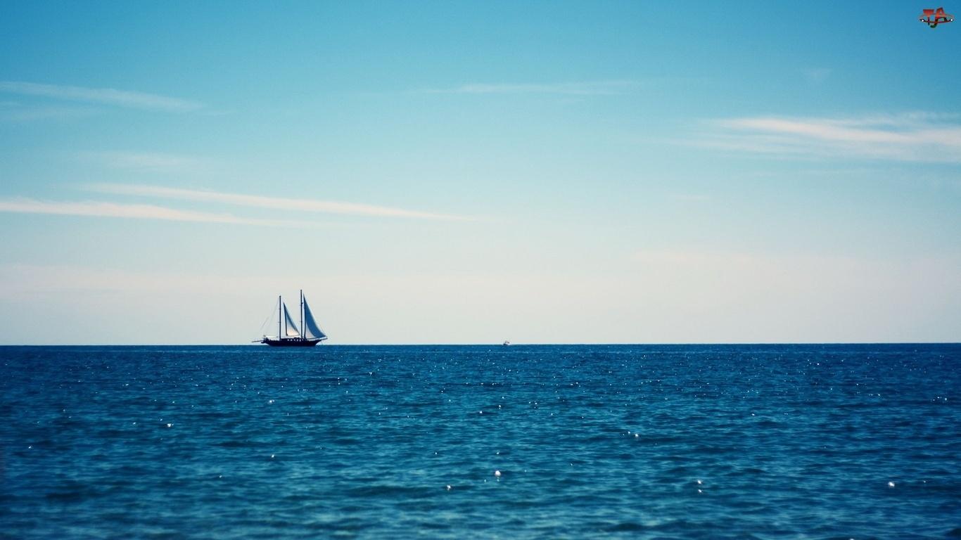 Morze, Żaglowiec