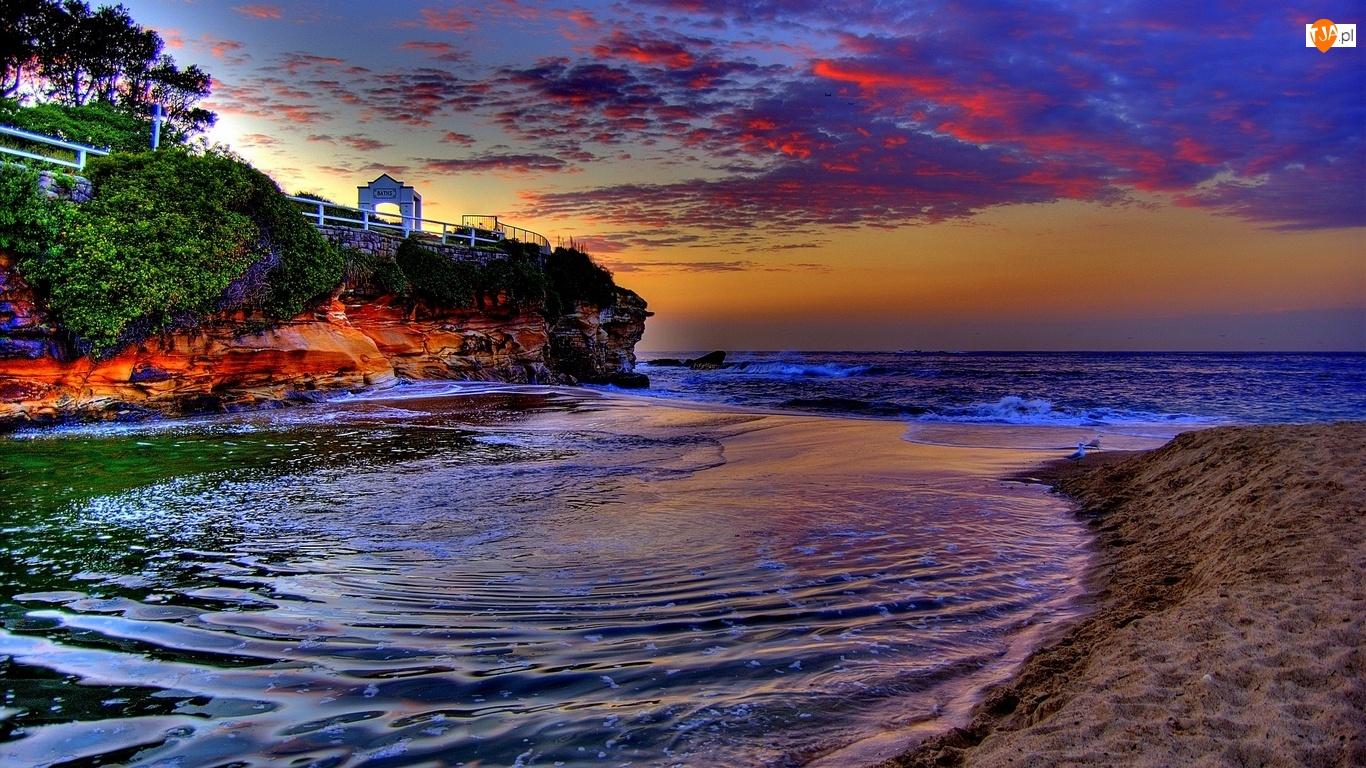 Piasek, Morze, Zatoka