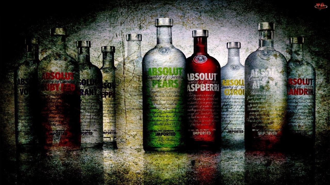 Wódka, Owocowe, Absolut, Smaki