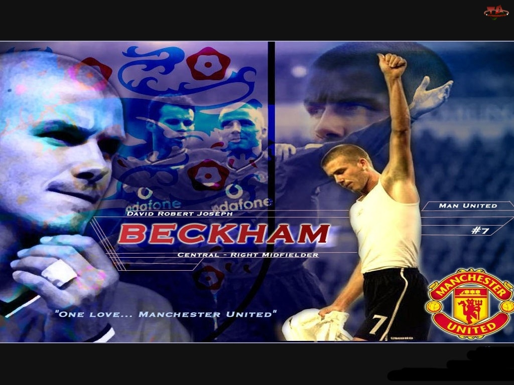 Manchester United, Piłka nożna, David Beckham