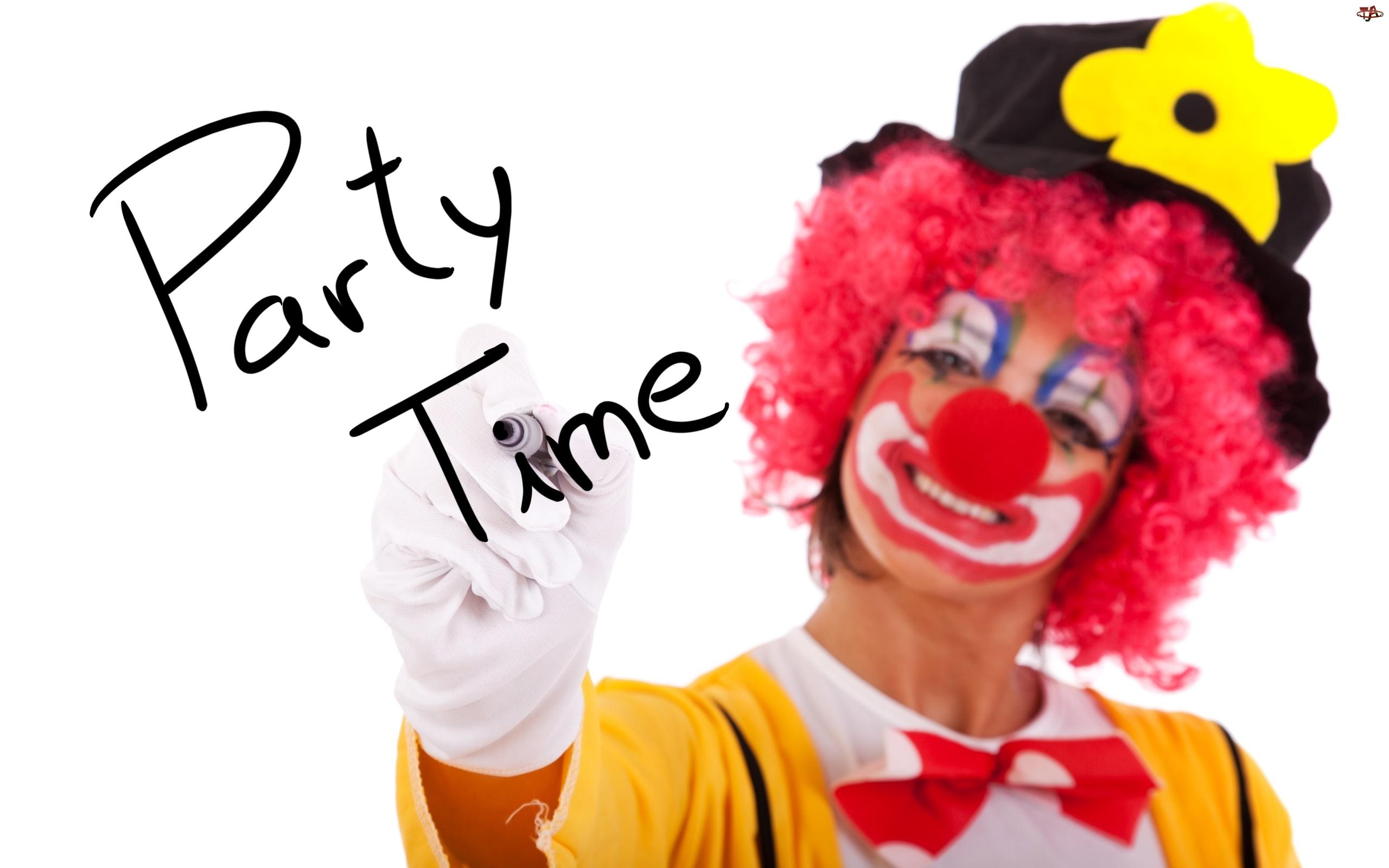 Klown, Zabawę, Czas, Na