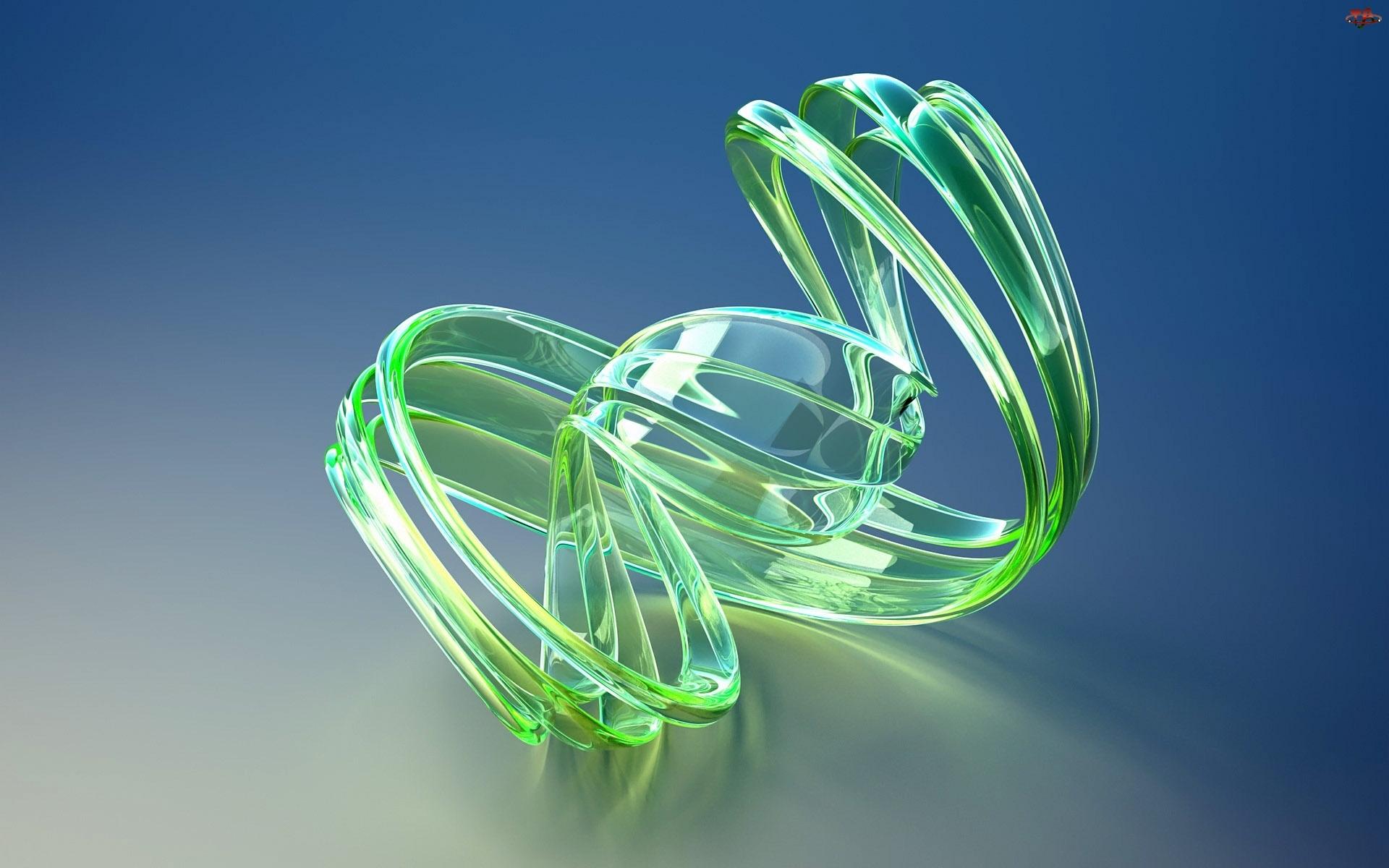 Zielona, Abstrakcja